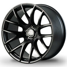 "18"" Miro Type 111 Wheels 5X112 18X9.5 Inch +40 Matte Black Rims Set 4"