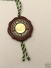 ROLEX Red Tag Seal GENUINE CHRONOMETER SEAL TAG Thread Cut