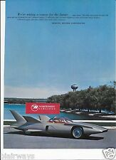 GENERAL MOTORS COURSE FOR THE FUTURE SEATTLE WORLDS FAIR 1962 FUTURE CAR AD