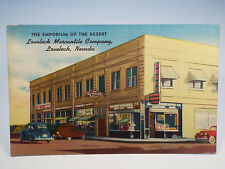 Vintage 1930s LOVELOCK MERCANTILE CO Lovelock NV Nevada Drug Store Postcard RARE