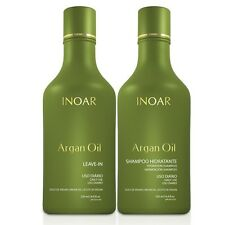 INOAR BRAZILIAN KERATIN TREATMENT ARGAN OIL HOME CARE,SHAMPOO & LEAVE IN