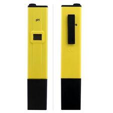 Digital PH Meter Tester Pocket Aquarium Pool Water Wine Urine LCD Pen Monitor