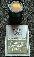 Carl Zeiss Jena Prakticar 3.5/135 MC Lens -