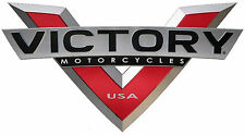 "VICTORY MOTORCYCLES USA ""V"" DECAL - SET OF 2"