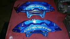 Chevrolet Corvette C6 ZR1 Rear brake calipers