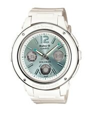 Casio Baby-G * BGA150-7B2 Large Face White & Mint Anadigi Watch Women COD PayPal