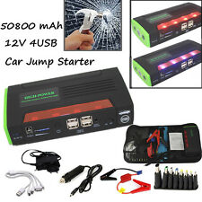 68800mAh Jump Starter Emergency Car Auto Power Bank Battery Charger For Laptop