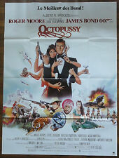 Affiche Cinéma OCTOPUSSY. James BOND. Cinema Movie Poster.