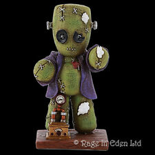 *FRANKENSTITCH* Pinhead Monsters Steampunk Art Hand Painted Resin Figurine (11cm