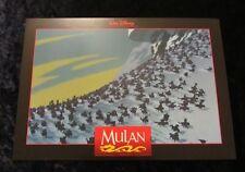 MULAN  lobby card  #2 WALT DISNEY