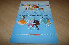 "CUNARD ""QUEEN MARY"" - PROGRAMME FOR TODAY CHRISTMAS BOXING  DAY 1965"