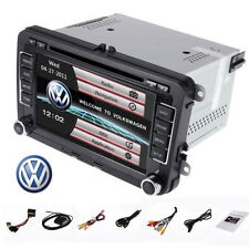 "GPS Navigation 7"" LCD Stereo 2DIN Car DVD Player for VW PASSAT GOLF JETT SKODA"