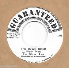 THE NELSON TRIO * 45 * TNT * All In Good Time * GUARANTEED #203 * 1959 NOS MINT
