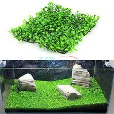 Plastic Water Grass Green Plant Lawn for Aquarium Fish Tank Landscape Décor HG
