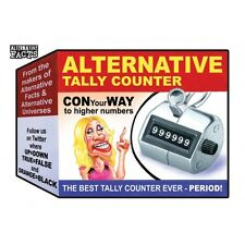 GPK Trumpocracy Wacky Packages Alternative Facts #1 Tally Counter Trump Conway