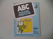 ABC PERSONAL COMPUTER (GRUPPO EDITORIALE JACKSON) - N° 8/1984