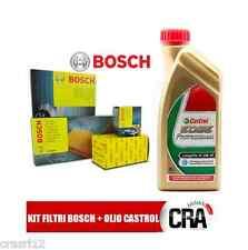 Kit tagliando olio CASTROL LONGLIFE III 5LT 4 FILTRI BOSCH AUDI A4 B7 2.0 103 KW