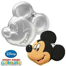 New Wilton DISNEY MICKEY MOUSE face cake pan birthday celebration clubhouse