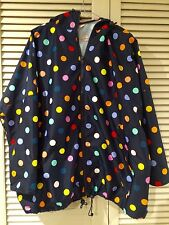 "New! Cutest GORMAN ""Polka dot"" raincoat coat jacket * One size fits all"