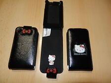 Original HELLO KITTY Tasche Etui Case Ledertasche Hülle Apple iPhone 3 3G 3GS