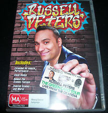 Russell Peters The Green Card Tour - Australia Region 4 DVD - New