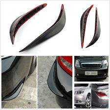 2 Pcs Soft Plastic Auto SUV Bumper Corner Anti-Rub Protective Decoration Strips