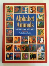 Alphabet Animals: Patterns for  Applique Valier, Paula Latos DJ Illust Free Ship