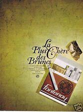 Publicité Advertising 026 1966 Fontenoy la cigarette la plus chère des brunes