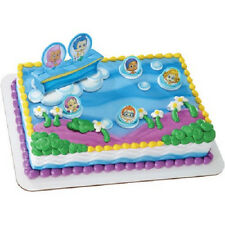 Bubble Guppies birthday cake kit topper featuring Gil and Molly NEW!!