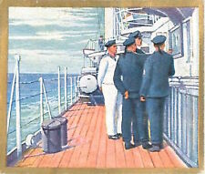 N°267 World War German Boat Round Officers Reichsmarine Germany WWI 30s CHROMO