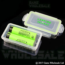 Battery Case for 18650 18350 - Waterproof & Dustproof Armour Holder Box
