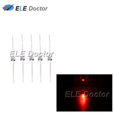 100pcs 1.5mm Water Clear Red Light LED Diodes Mini High Quality Ultra Bright