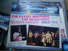 "LP 12"" LA GRANDE STORIA DEL ROCK N.12 THE EVERLY BROTHERS BEACH BOYS N/MINT"