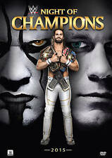 WWE Night of Champions 2015 DVD Brand New Factory Sealed Seth Rollins