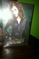 HOT TOYS IRONMAN 2 BLACK WIDOW! MMS 124 BRIEFLY DISPLAYED,100% COMPLETE