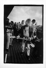 NIRVANA POSTER PAGE READING FESTIVAL 23 AUGUST 1991 . KURT COBAIN c