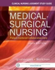 Clinical Nursing Judgment Study Guide for Medical-Surgical Nursing : Patient-Cen