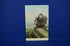 Vintage Up Over the Alpine Mount Lowe Railway Post Card, Used PC4
