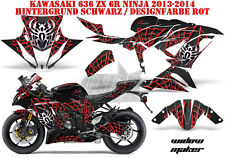 AMR RACING DEKOR GRAPHIC KIT KAWASAKI ZX-6R 636/10R/Z-1000 SX WIDOW MAKER B
