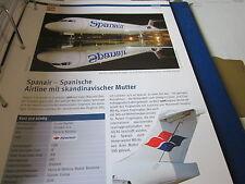 Airlines Archiv Spanien Spanair Skandinavische Mutter 6S