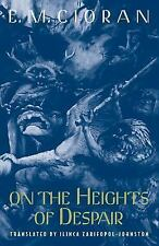 On the Heights of Despair by E.M. Cioran Paperback Book (English) NEW