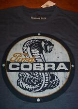 VINTAGE STYLE SHELBY COBRA CAR FORD T-Shirt MEDIUM  NEW w/ TAG
