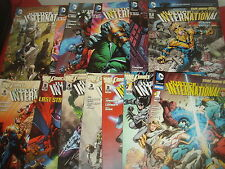 JUSTICE LEAGUE INTERNATIONAL #1-12 plus Annual NEW 52 dc Complete Set   2011  NM