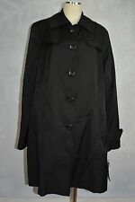 DKNY Single breasted Trench jacket  black water repellent  size XL  NWD(no belt)