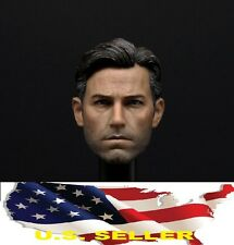 1/6 Ben Affleck head 2.0 batman v superman Bruce Wayne for hot toys phicen USA