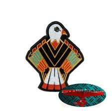 NATIVO INDIAN EAGLE Patch Toppa Biker Moto Rocker Adler Harley