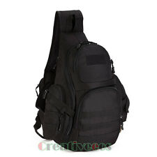 New Men Waterproof Nylon Tactical Travel Hiking Messenger Back Pack Chest Bag