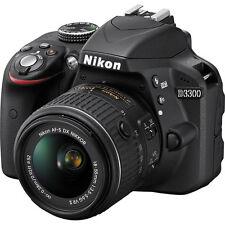 Nikon D3300 DSLR Camera with AF-P 18-55mm VR Lens Black ggx