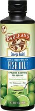 Omega Swirl Fish Oil  High Potency Key Lime Barlean's 8 oz Liquid