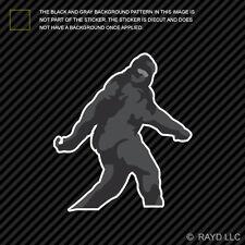 Sasquatch Bigfoot Sticker Decal Self Adhesive Vinyl
